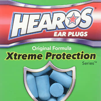 HEAROS Xtreme Foam Ear Plugs